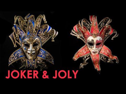 Венецианские маски: Джокер и Джоли