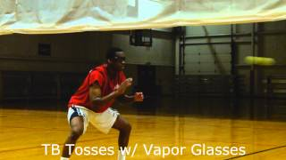 Reactionary Tennis Ball Drills for Basketball Players