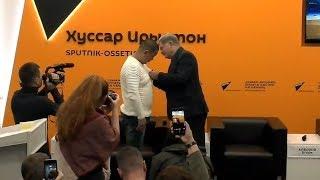 Тасболат Ибрашев получил государственную награду Южной Осетии