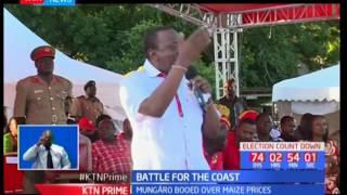 Jubilee Leaders President Kenyatta And Deputy Ruto Accuse NASA Of Planning To Divide Kenyans
