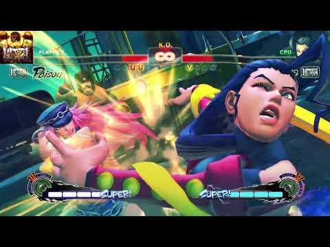 ULTRA STREET FIGHTER IV Poison vs Rose |