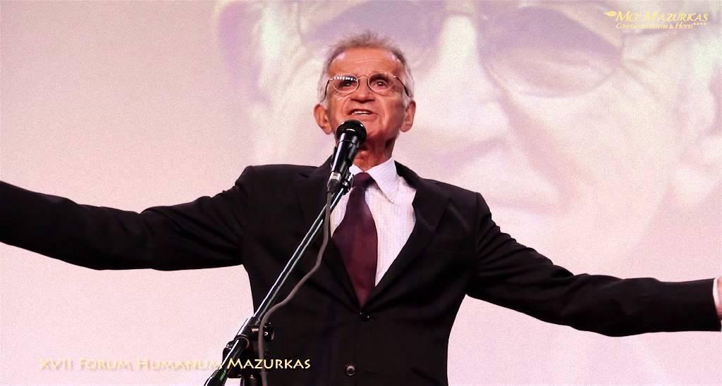 XVII Forum Humanum Mazurkas - Jacek Fedorowicz na benefisie M.Majewskiego-MCC Mazurkas