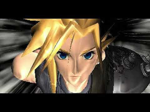 Final Fantasy VII Ending Part 1 - Scaled with ESRGAN