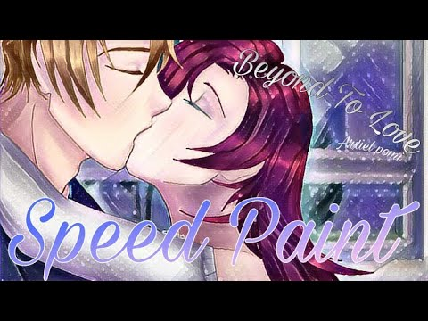 🌸SPEED ART🌸 Beyond to love Nathaniel x Katty 🌸 Arxiel pomi