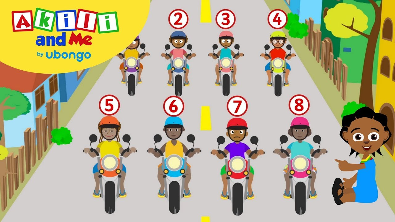 Download Learn Numbers in Swahili and English with Akili and Me | African Educational Songs