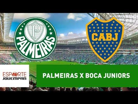 Palmeiras 1 X 1 Boca Juniors  - 11/04/18 - Libertadores