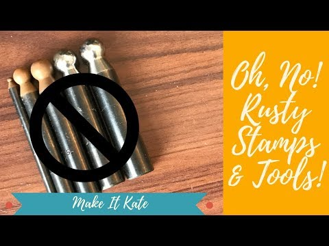 Metal Stamping Tools (Rust Removal)