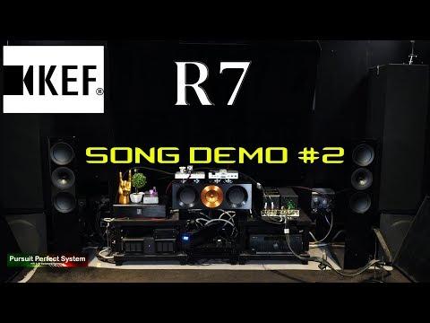 KEF R7 speakers REVIEW Chord Hugo M Scaler Wave High Fidelity McIntosh MC275 Hugo TT 2 Song demo #2