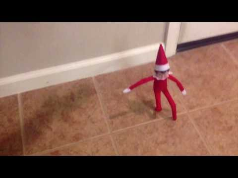 Elf on the shelf comes to our house