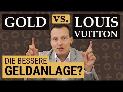 GOLD oder LOUIS VUITTON als Anlage? Was hat die bessere RENDITE? Taschen Goldmünzen Krisenvorsorge