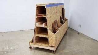 how build a lumber cart of shopnotes plan _ 목재 적재 카트 만들기