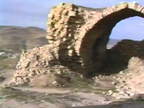 Kerak castle (Jordanie / Jordan / الأردن) in 1991