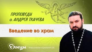 Введение во храм Пресвятой Богородицы. Прот. Андрей Ткачев 04.12.17