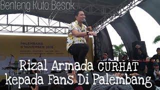 Rizal Armada Curhat || BKB Palembang || Festival Pesona Lokal