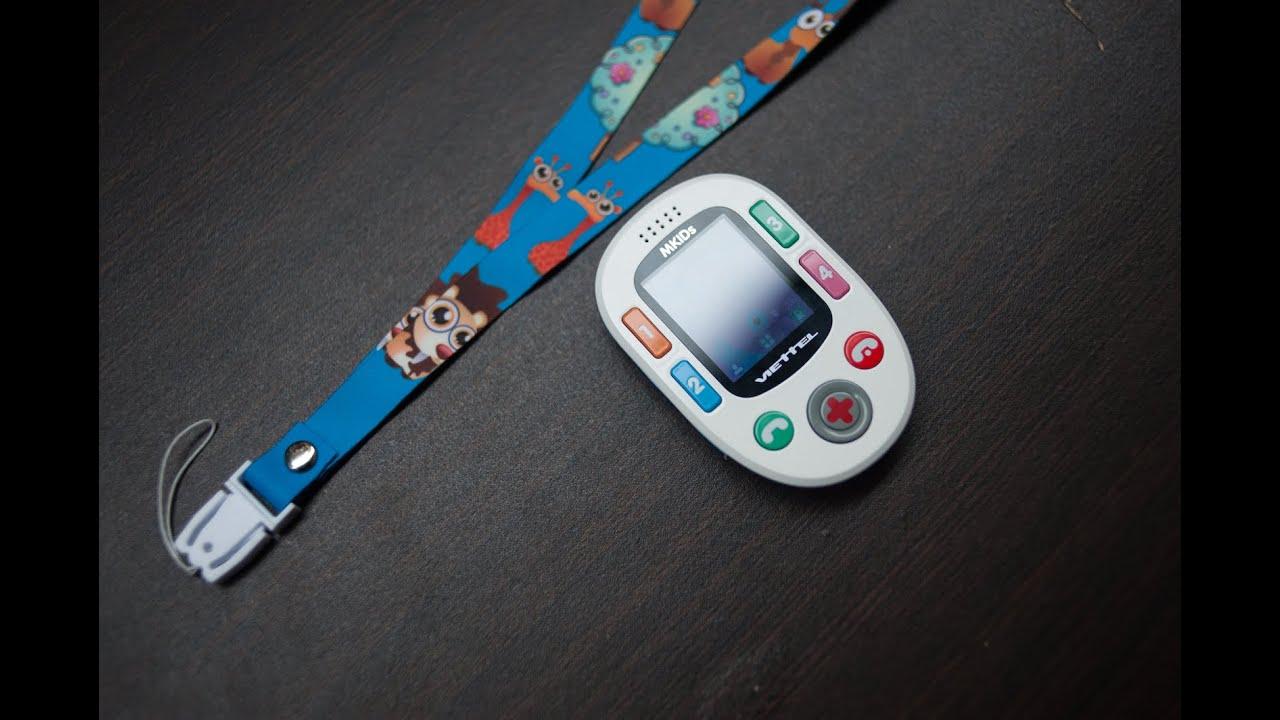 Tinhte.vn – Trên tay điện thoại Viettel Mkids cho trẻ nhỏ