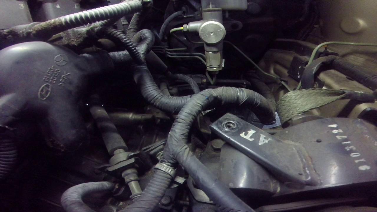 Hyundai Elantra Output Shaft Speed Sensor Youtube
