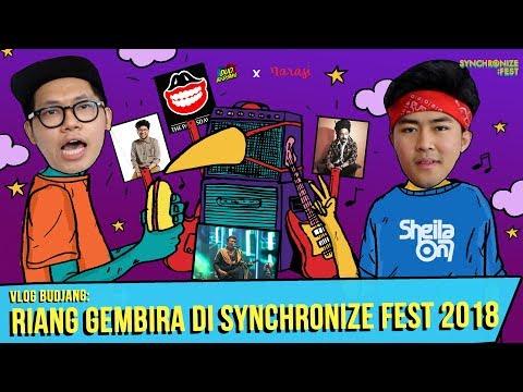 Vlog Duo Budjang: Berdangdut bersama Rhoma Irama di Synchronize Fest 2018   Duo Budjang