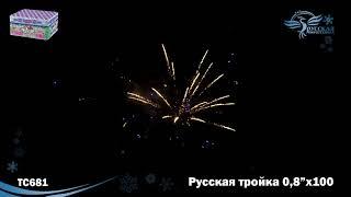 """TC681 Русская тройка (0,8"""" х 100) Модуль"""