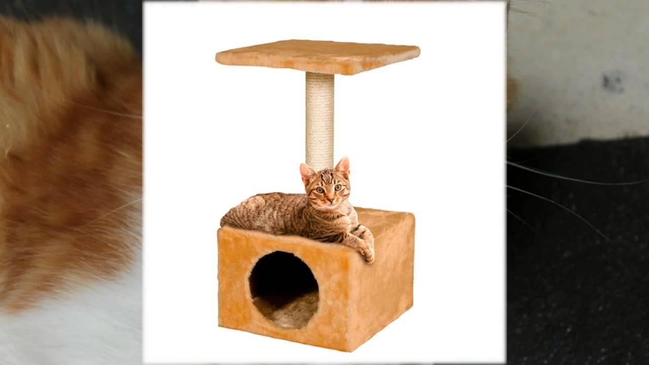 домики для кошек многоярусные - YouTube