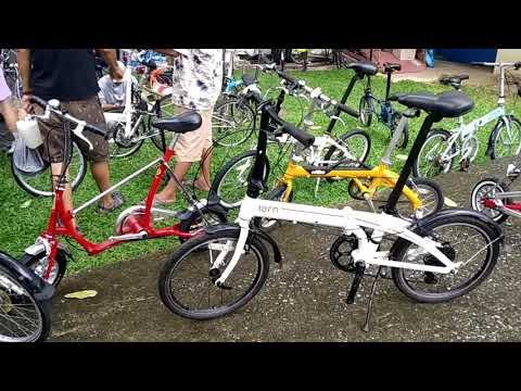 จักรยานพับ เจ๋งๆ มือ2 จากญี่ปุ่น Pageร้าน START_foldingbike จักรยานมือสองญี่ปุ่น @ตลาดนัดจักรยาน TOT
