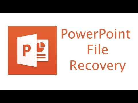 How To Recover PowerPoint File - Lost/unsaved