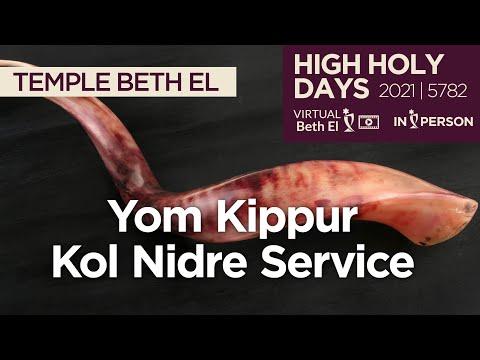 Yom Kippur Kol Nidre Services (High Holy Days 2021 | 5782)
