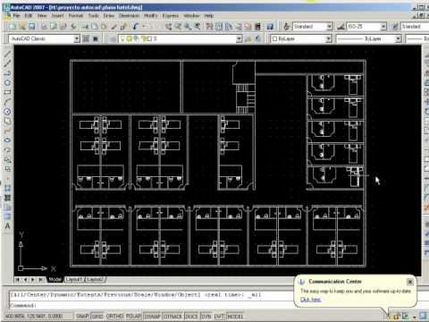 Plano hotel en autocad youtube for Como disenar un hotel