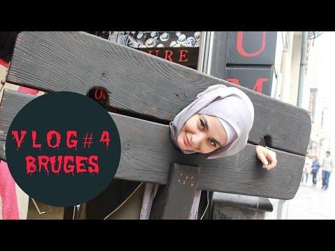 Vlog #15 (Bruges , Manger des Insectes , Musée de la Torture, Knokke...) | Muslim Queens by Mona