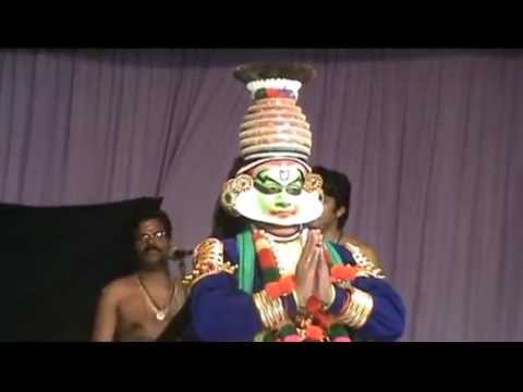 RRCAT Ayyappa Pooja, Dussasana Vadham Kathakali_its beautiful ending.mp4