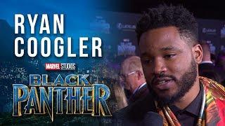 Director Ryan Coogler at Marvel Studios' Black Panther World Premiere Red Carpet