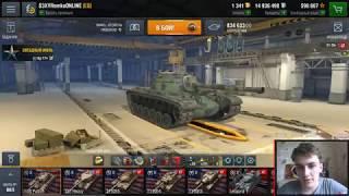 Танки из ангара #1 M48 Patton -  Летсплей по ст 10 уровня США