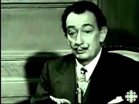 Interview Salvador Dali en français