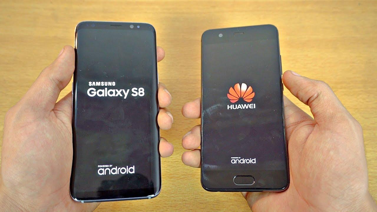 Samsung Galaxy S8 Vs Huawei P10