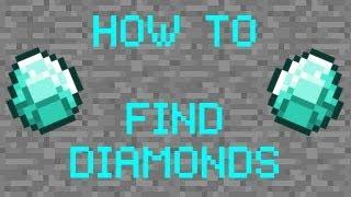 Как быстро найти алмазы в minecraft (22 за 10 минут!!)