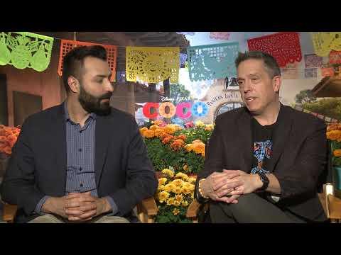 Coco Interview: Directors Adrian Molina & Lee Unkrich