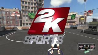 NBA 2K15 Lebron James vs Kobe Bryant 1v1 Blacktop PC Basketball Gameplay