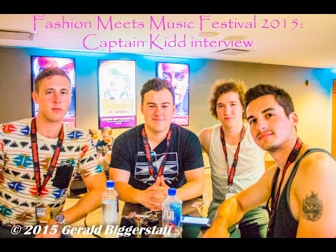 Fashion Meets Music Festival 2015: Captain Kidd Interview (Video)