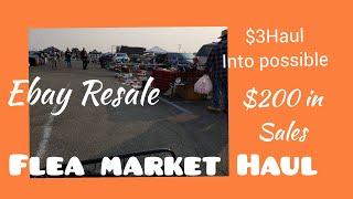 Flea Market Haul for Ebay Resale + Household Items