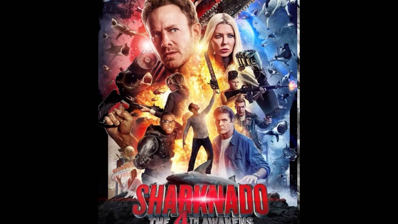 Sharknado 4 Poster Spoofs Star Wars, Is Every Bit As Crazy As You ...