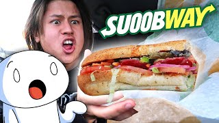 Getting TheOdd1sOut's Sooubway Order