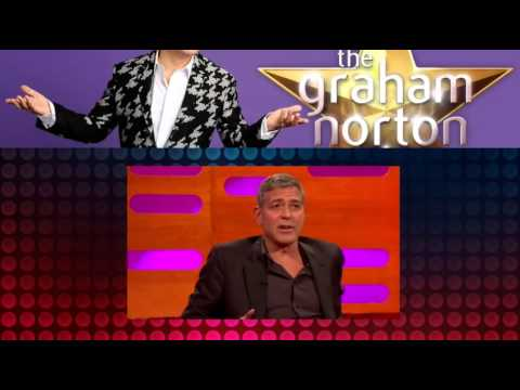 The Graham Norton Show S17E07: George Clooney, Dwayne Johnson, Hugh Laurie and Britt Robertson