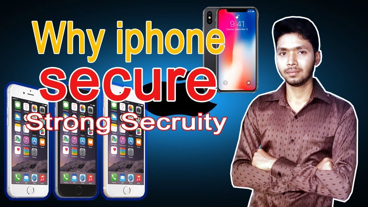 why iphone is more secure than android in hindi | ios vs android privacy  2017