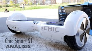 Análisis Chic Smart S1, el patinete que quiere ser hoverboard