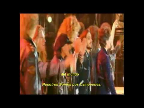 Queen + Liza Minelli We Are The Champions  Live At Wembley (Subtitulado Al Español).[HD]