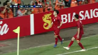Nguyen Cong Phuong 87' vs Philippines (AFF Suzuki Cup 2018 : Semi-finals)