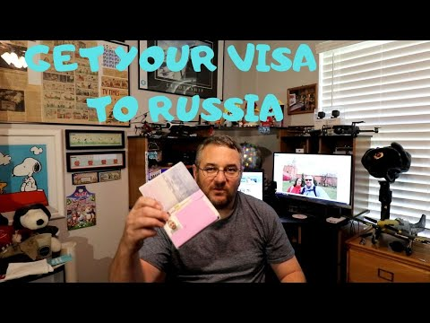 HOW TO GET YOUR VISA TO RUSSIA
