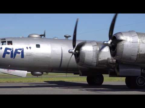 The  B-29 Superfortress at Birmingham Airport