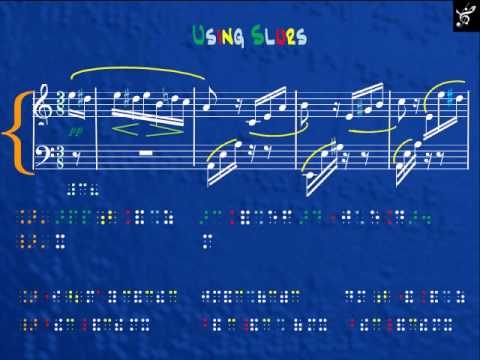 Braille Music Notation PART 2 (Musicografia)  ROGER CORDOBA