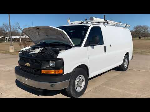 2014 Chevrolet Express 2500 Cargo (1GCWGFCB9E1) with an 6.0L V8 OHV 16V CNG engine, 6A transmission, located at 17760 Hwy 62, Morris, OK, 74445, (918) 733-4887, 35.609104, -95.877060 - Photo #0