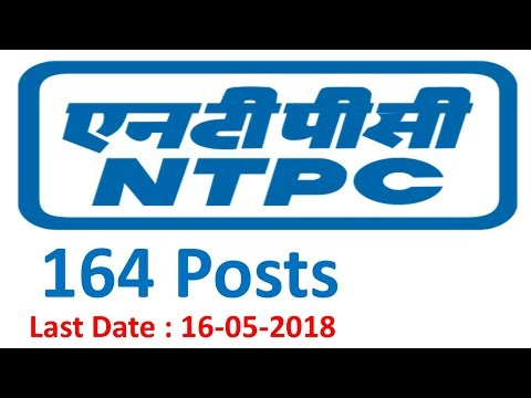NTPC Recruitment for 164 Posts || NTPC Careers || Latest Vac